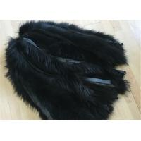 Jacket Raccoon Mens Fur Collar 100% Handmade With Customized Colors / Size Manufactures