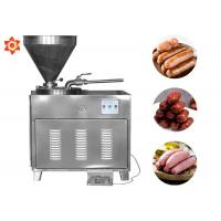 China Stainless Steel Meat Processing Equipment Manual Electric Sausage Stuffer on sale