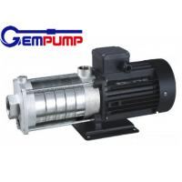 CHL light stainless steel Multistage High Pressure Pumps low noise Manufactures