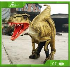 KAWAH Hot Sale Prop Artificial Life Like Walking Animatronics Dinosaur Suit Manufactures