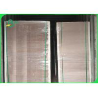 Recycled Pulp 1.2mm 1.5mm Grey Chipboard In Sheet For Book Binding Manufactures