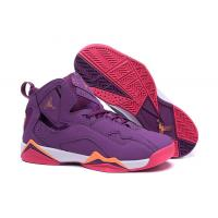 Purple Color Air jordan VII AJ7 woman basketball Sports Shoes, size 36-40 with box