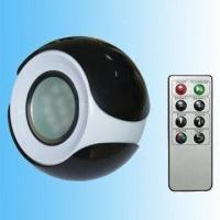 15 Color LED Mood Light with CE and RoHS Approvals, Made of Plastic + Aluminum Alloy Manufactures