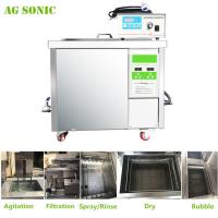 360L Auto Parts Ultrasonic Cleaner with 28khz Strong Frequency Power Adjustable Manufactures