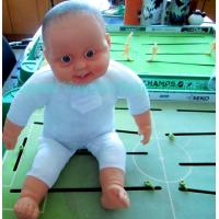 China Fat Baby Boy Vinyl Doll,Newly Boy Vinyl Toy,Electronic Reborn Baby Bath Toy with Sound on sale