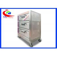 China Commercial Bakery Oven / Bread Oven Electric with 3 layers 6 pans on sale