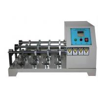 Flexing Resistance Testing Machine , Leather Crumpling Resistance Tester Six Station Manufactures