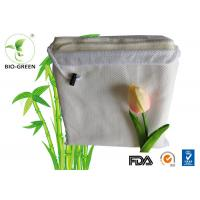 Quality Customized Softness Bamboo Dry Wipes , Square Bamboo Antibacterial Baby Wipes for sale