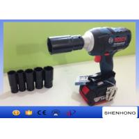 Portable Adjustable Electric Torque Impact Rechargeable Wrench 18V 50 - 60 HZ