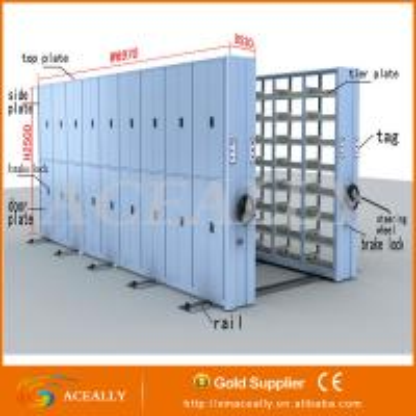 School /Office Furniture Mobile Shelving Storage System