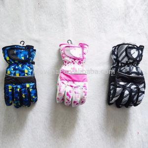 2017 Sport Fashion Cheap hot sale men girl Winter ski gloves 12*24cm 135g 100%polyester Manufactures