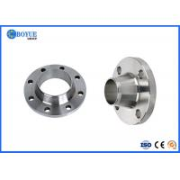 High Precision Steel Pipe Flange , Forged Nickel Alloy Flanges Easy Installation Manufactures