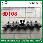 4D31 / Части коллекторной выхлопной трубы 4БД1/4БГ1 гидравлические запасные для экскаватора