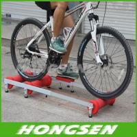 China Execise colorful alloy bike roller trainers for fitness in home on sale