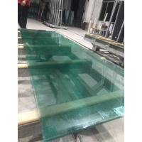 SGP laminated glass with green water ghost metal-coated polyester mesh fabric Manufactures