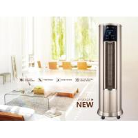 China LowNoise Warm Air Conditioner , Hot Air Vertical Fan Heater With LCD Touch Switch on sale