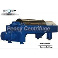3 Phase Liquid Solid Separation Decanter Centrifuges Used In Fish Oil Field Manufactures