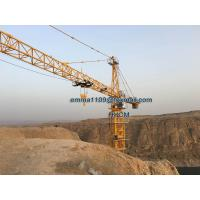 Cheap TC7030 12t Tower Crane Construction Specification 50-60M Free Height for sale