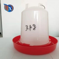 HDPE 15KG Bird Chicken Water Feeder Automatic Manufactures
