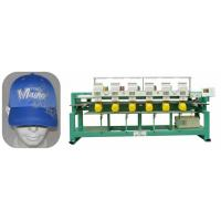 """Automatic 6 Heads Computerized Cap Embroidery Machine , 5 """" LCD Screen Manufactures"""