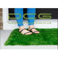 30 Mm Pile Height Fake Artificial Grass Carpet With PP Coating Backing