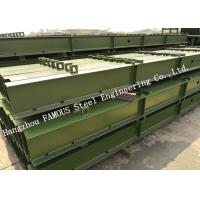 Vehicle Prefabricated Steel Truss Pedestrian Bridge Panel Assembled Heavy Haul Manufactures