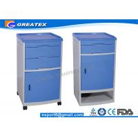 Professional Patient / Hospital Bedside Cabinet Furniture With Towel Stand Manufactures