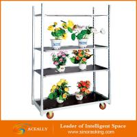 Flower Garden Cart Display Rack Manufactures