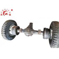 Ductile Iron 5T Loading Tricycle Rear Axle With Oil Brake Manufactures