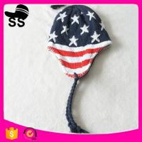 2017 Factory Supplier High Quality  Winter Earflap Hats keep warm Earmuff Peruvian Snow Caps 18*33cm 107g 100%polyester Manufactures