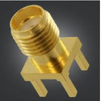 PCB Mount SMA Female PCB Connector SMA Female Vertical Jack For Microwave Manufactures