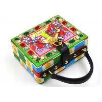 Leather Printing Sparkly Ladies Clutch Bag , Light Diamante Prom Clutch Bag