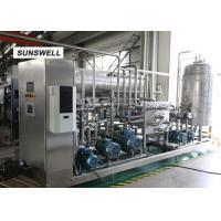 Soft drink infusing machine  with 15C filling carbon mixer used in beverage making production line Manufactures