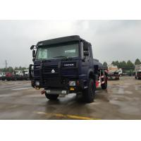 4X4 Off Road Oil Tank Trucks / Edible Oil Transport Truck Hydraulically Clutch Manufactures