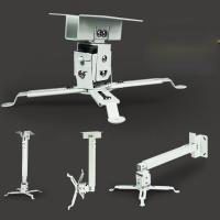 Factory Sale White 4365 Durable Ceiling Mount For HD LED LCD Projector Bracket Roof Manufactures