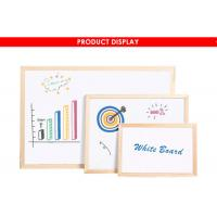 Wood Framed Magnetic Dry Erase Board With Marker Pen Fashionable Style Manufactures