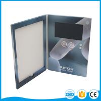 Cheap Laser Cut Wedding Lcd Video Brochure Player , Acrylic Lcd Invitation Card for sale