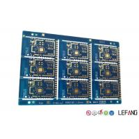 Electronics Communication High Frequency PCB 2 Layers ENIG Surface Treatment Manufactures