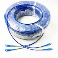 Armored Fiber Optic Patch Cable , Singlemode Multicore Outdoor Lc Lc Patch Cord Manufactures