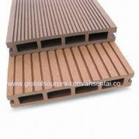 Swimming pool decking, WPC Material, Suitable for Outdoor Flooring,100% recyclable Manufactures