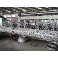 Cheap Heavy Duty Hexagonal Mesh Machine With Automatic Oil System , 3300mm Width for sale