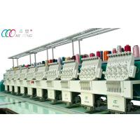 10 Heads Automatic Flat Embroidery Machine , Auto Trimmer And Color Changing Manufactures