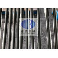 Professional SiSiC Material RbSiC Silicon Carbide Rollers 5 - 7mm Thickness Manufactures