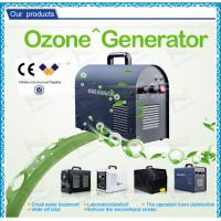 Corona gas Household Ozone Generator for car / electrolytic ozone generation Manufactures