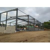 Prefab Metal Buildings Steel Structure Building With Sandwich Panel Manufactures