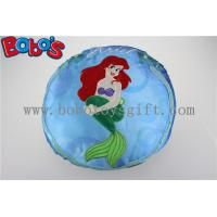 Round Stuffed Pillow with Embroidery Little Mermaid Girl Manufactures