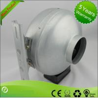 Professional 220V AC Centrifugal Circular Inline Duct Vent Fan UL Approval Manufactures