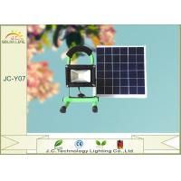 High Brightness Aluminum Alloy Solar Powered Emergency Light With 7.4V 4400MAH Battery Manufactures