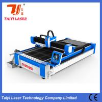 China Pipes And Sheets Cut In One Fiber Laser Cutting Machine 380V Anti Collision Cutting Head on sale