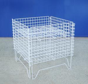 Supermarket Industrial Wire Container Detachable Wire Mesh Stillage Manufactures